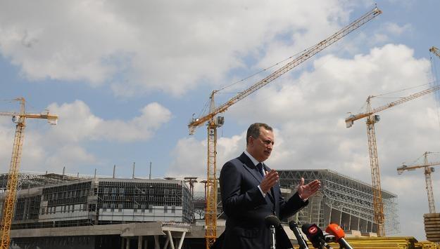 Wicepremier Borys Kołesnikow /AFP