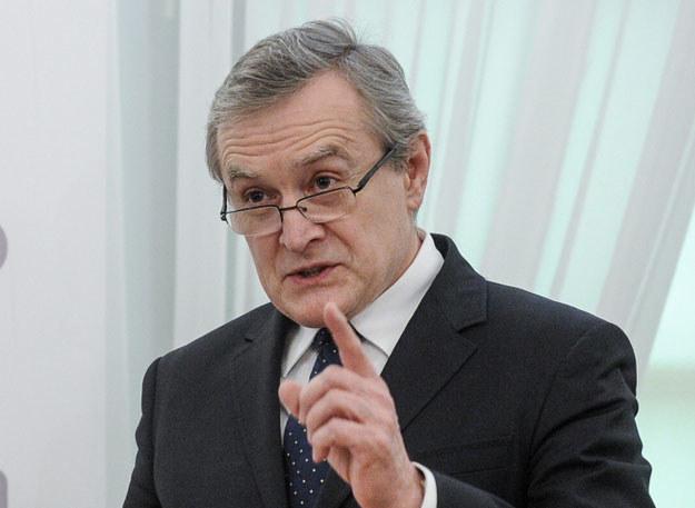 Wicepremier i minister kultury Piotr Gliński /Marcin Obara /PAP