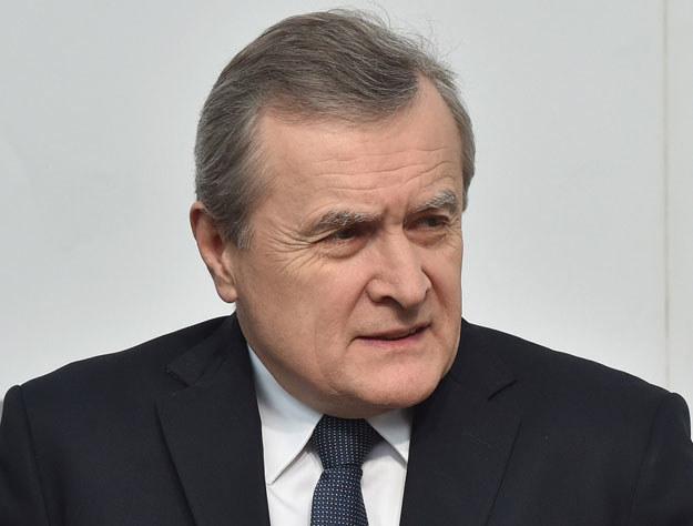 Wicepremier i minister kultury Piotr Gliński /Radek Pietruszka /AFP