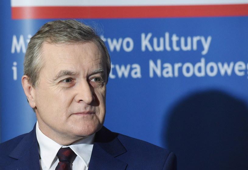 Wicepremier i minister kultury Piotr Gliński /Radek Pietruszka /PAP