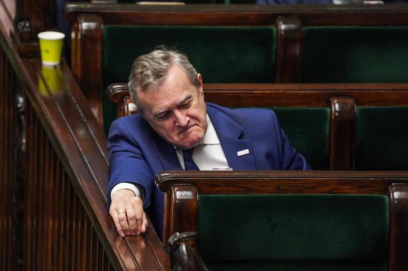 Wicepremier i minister kultury Piotr Gliński /Jacek Domiński /Reporter