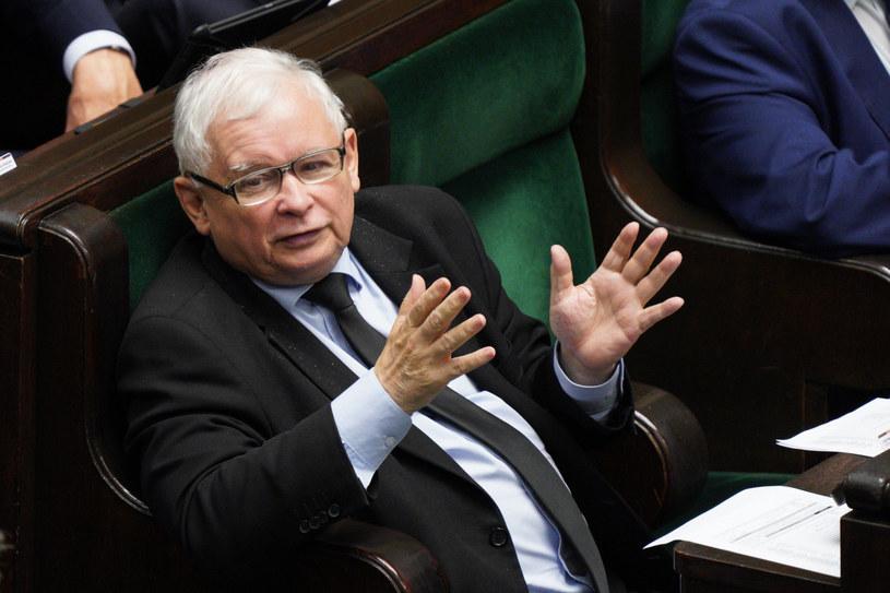 Wicepremier i prezes PiS Jarosław Kaczyński /Jacek Dominski/ /Reporter