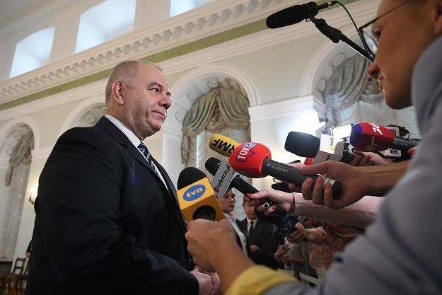 Wicepremier Jacek Sasin. Fot. Rafał Oleksiewicz /Reporter