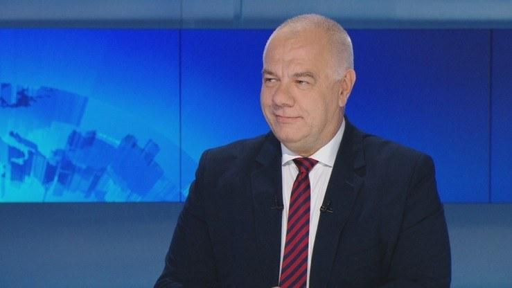 """Wicepremier Jacek Sasin w """"Gościu Wydarzeń"""" /Polsat News"""