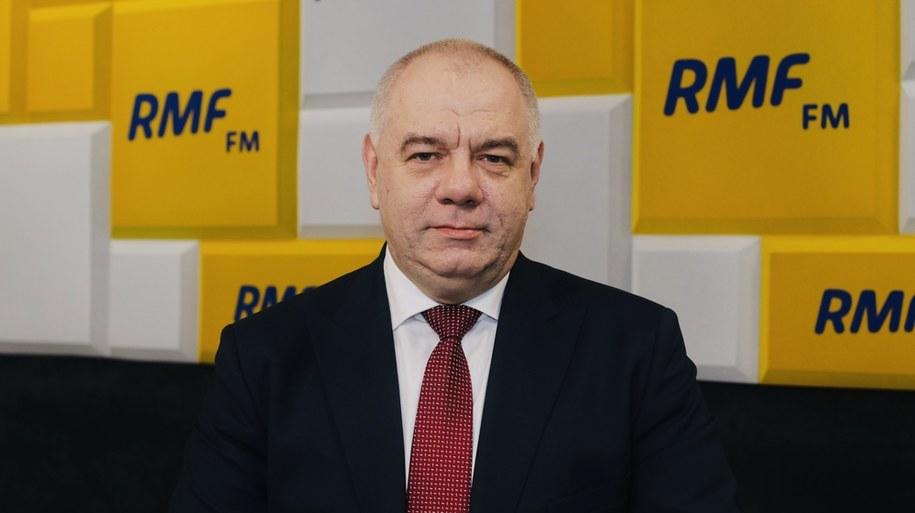 Wicepremier Jacek Sasin /Karolina Bereza /RMF FM