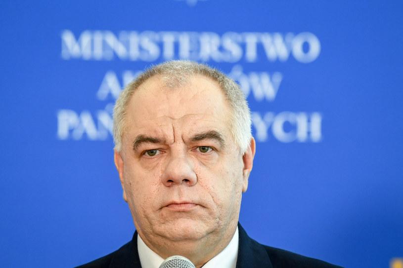 Wicepremier Jacek Sasin /Jacek Domiński /Reporter