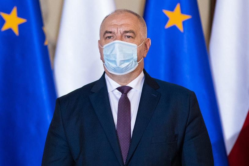 Wicepremier Jacek Sasin /Andrzej Iwańczuk /Reporter