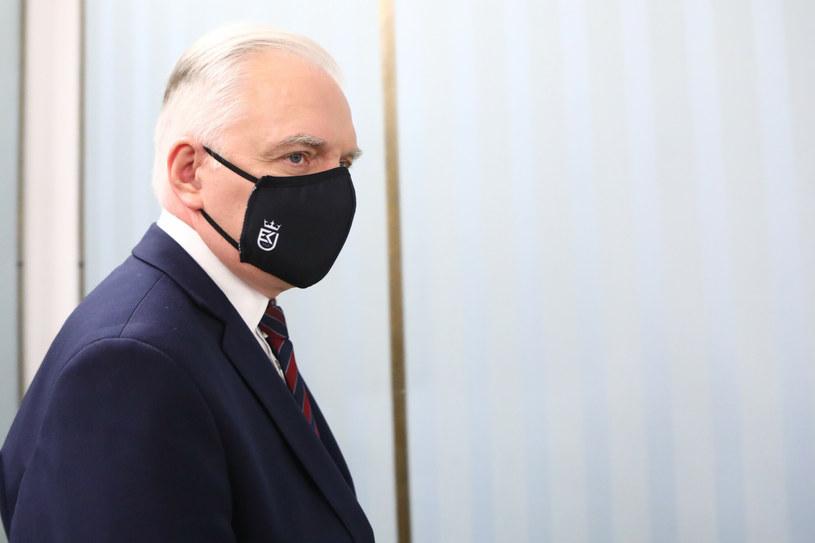 Wicepremier Jarosław Gowin (Porozumienie) /Tomasz Jastrzębowski /Reporter
