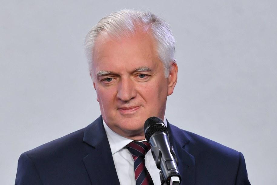 Wicepremier Jarosław Gowin / Radek Pietruszka   /PAP