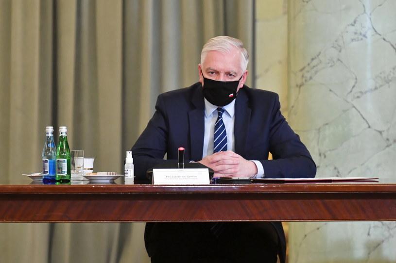 Wicepremier Jarosław Gowin /Piotr Nowak /PAP