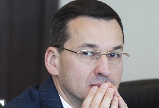 Wicepremier Mateusz Morawiecki. Fot. Jacek Dominski /Reporter