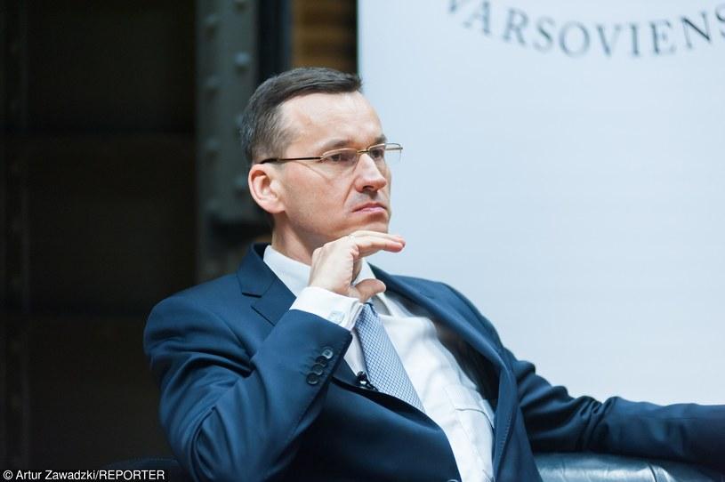 Wicepremier Mateusz Morawiecki planuje budowę kolejnego lotniska w Polsce /Artur Zawadzki /Reporter
