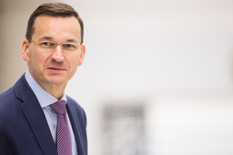 Wicepremier Mateusz Morawiecki /Maciej Łuczniewski /East News