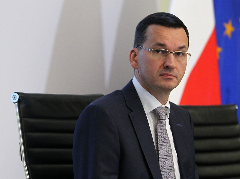 Wicepremier Mateusz Morawiecki /STANISLAW KOWALCZUK /East News