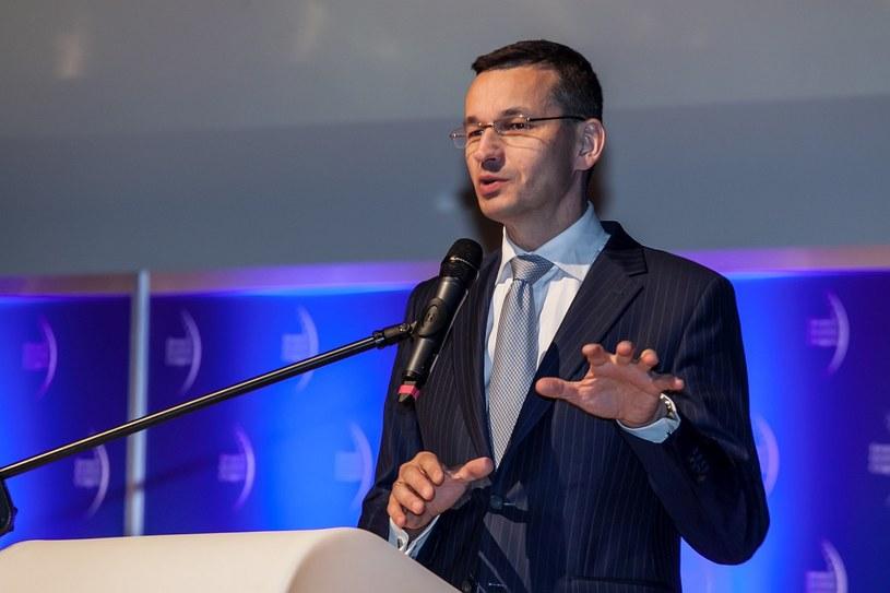 Wicepremier Mateusz Morawiecki /Ireneusz Rek /INTERIA.PL