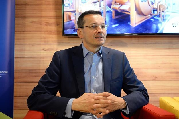 Wicepremier Mateusz Morawiecki /PAP