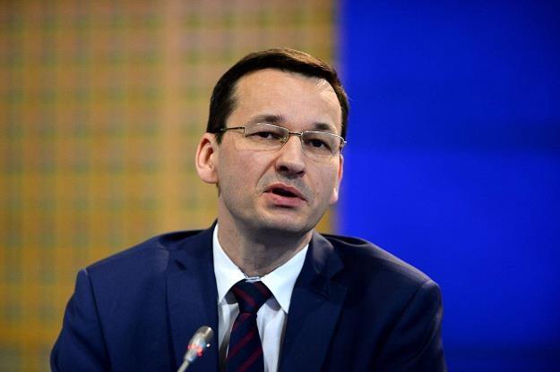 Wicepremier Mateusz Morawiecki /AFP