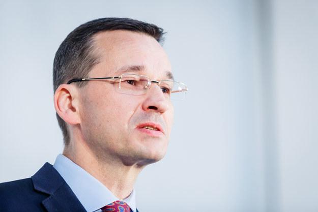 """Wicepremier Matuesz Morawiecki: """"Polska prośba jest prosta: wzywamy do wycofania propozycji KE"""" /Łukasz Klos /Reporter"""
