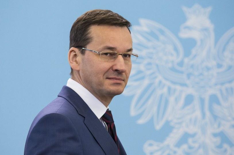 Wicepremier, minister finansów i minister rozwoju Mateusz Morawiecki /Andrzej Hulimka  /Reporter