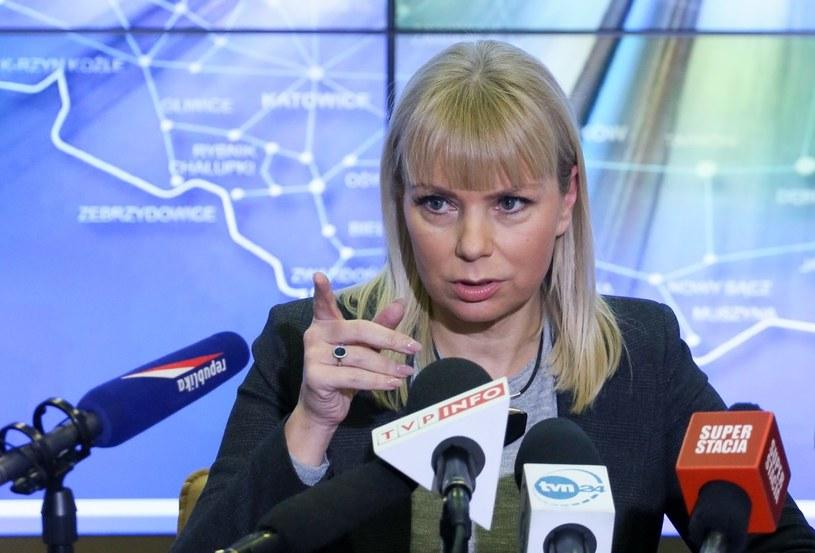 Wicepremier, minister infrastruktury i rozwoju Elżbieta Bieńkowska /Paweł Supernak /PAP