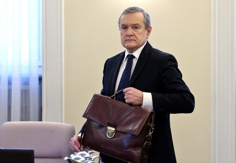 Wicepremier, minister kultury i dziedzictwa narodowego Piotr Gliński /Rafał Guz /PAP