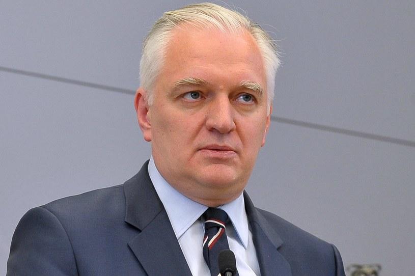 Wicepremier, minister nauki i szkolnictwa wyższego Jarosław Gowin /Marcin Bielecki /PAP