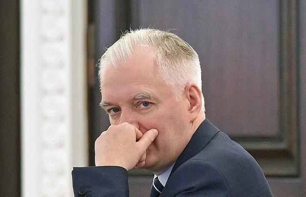 Wicepremier, minister nauki i szkolnictwa wyższego Jarosław Gowin /PAP