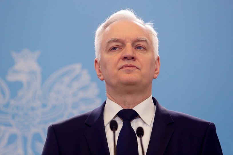 Wicepremier, minister nauki i szkolnictwa wyższego Jarosław Gowin /Adam Guz /PAP
