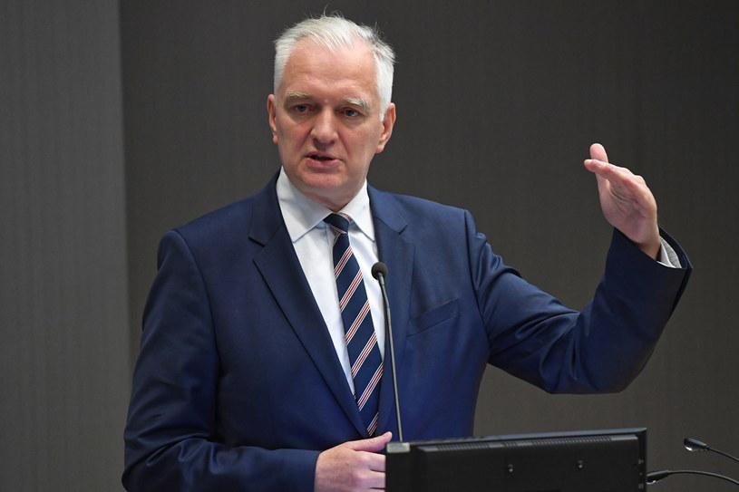 Wicepremier, minister nauki i szkolnictwa wyższego Jarosław Gowin dzisiaj w Krakowie /PAP