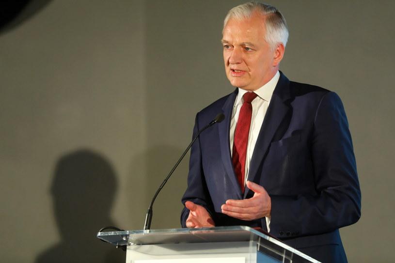 Wicepremier, minister nauki i szkolnictwa wyższego Jarosław Gowin /Rafał Guz /PAP