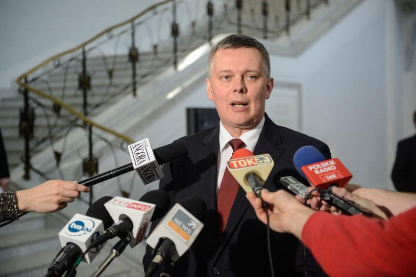 Wicepremier, minister obrony narodowej Tomasz Siemoniak /Jakub Kamiński   /PAP