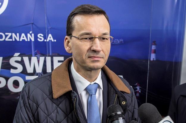 Wicepremier, minister rozwoju i finansów Mateusz Morawieck /PAP