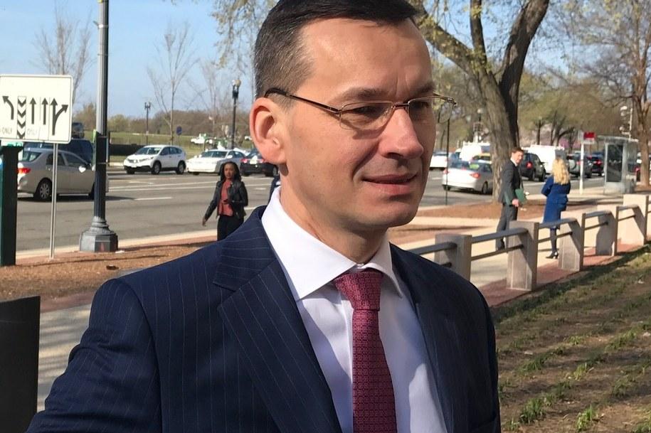 Wicepremier, minister rozwoju i finansów Mateusz Morawiecki /Paweł Żuchowski /RMF FM