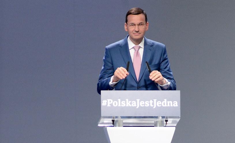 Wicepremier, minister rozwoju i finansów Mateusz Morawiecki /Piotr Polak /PAP