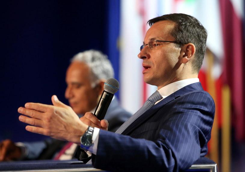 Wicepremier, minister rozwoju i finansów, Mateusz Morawiecki /Grzegorz Momot /PAP