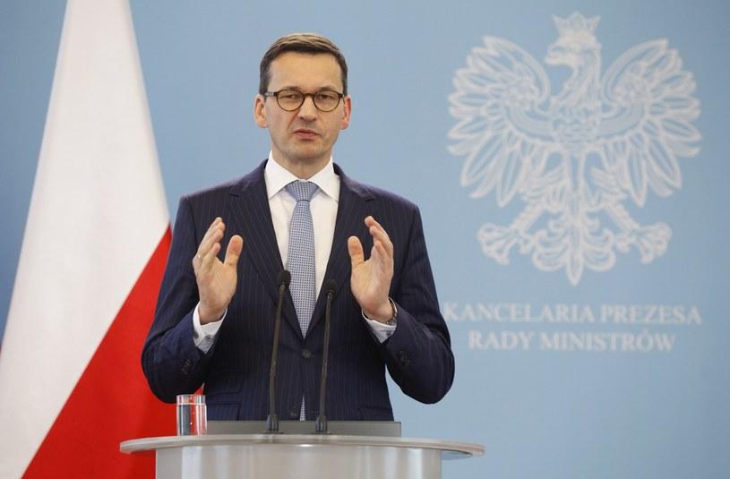 Wicepremier, minister rozwoju i finansów Mateusz Morawiecki /STEFAN MASZEWSKI/REPORTER /East News