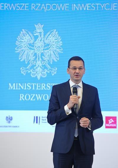 Wicepremier, minister rozwoju i finansów, szef KERM Mateusz Morawiecki /PAP