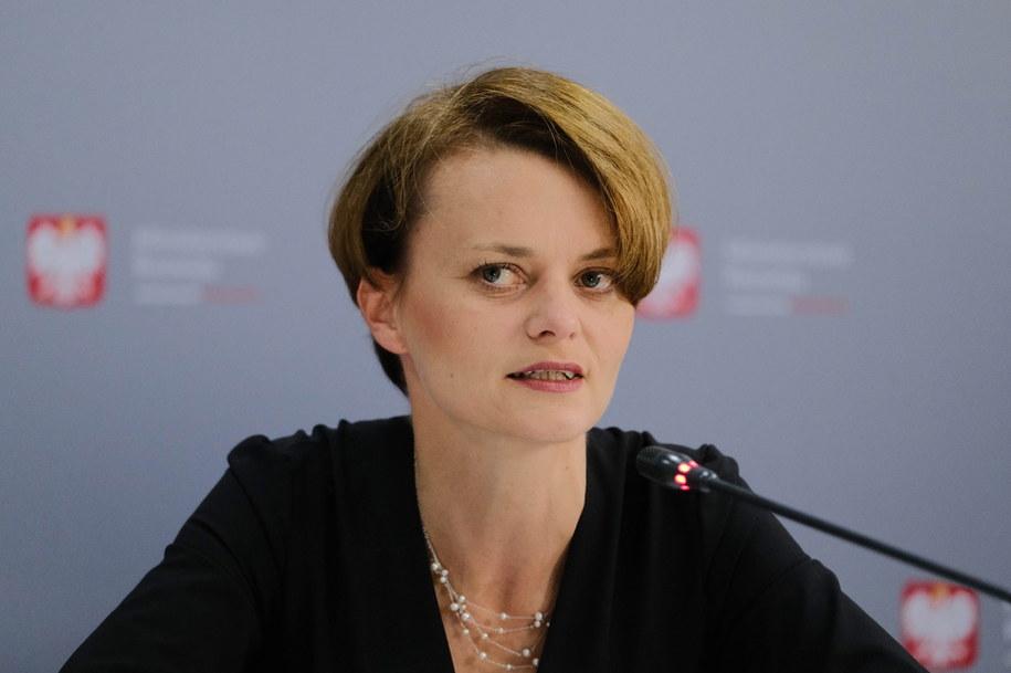 Wicepremier, minister rozwoju Jadwiga Emilewicz /Mateusz Marek /PAP