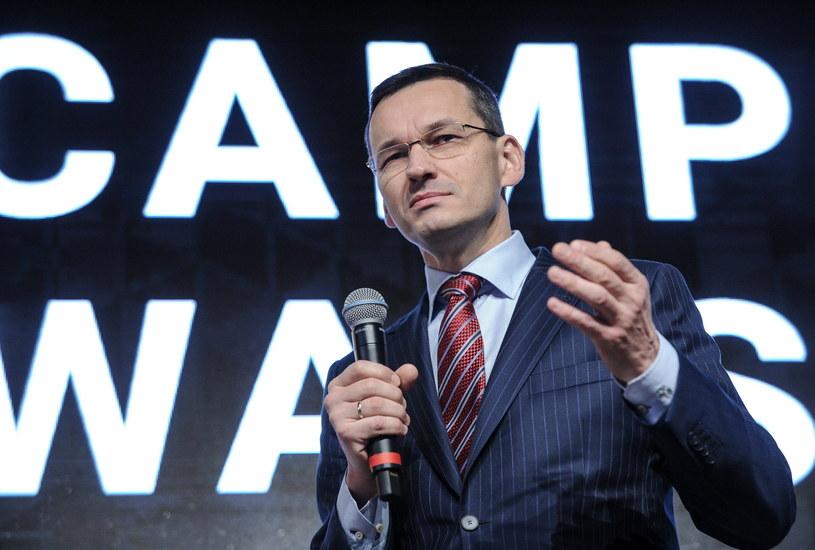 Wicepremier, minister rozwoju Mateusz Morawiecki /Marcin Obara /PAP
