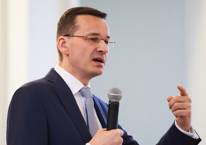 Wicepremier, minister rozwoju Mateusz Morawiecki /Adam Warżawa /PAP