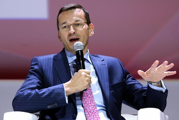 Wicepremier, minister rozwoju Mateusz Morawiecki /PAP