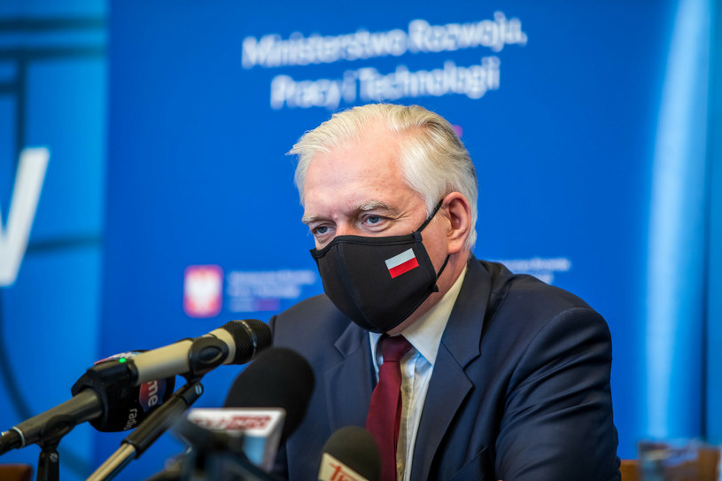 Wicepremier, minister rozwoju, pracy i technologii Jarosław Gowin /Jan Graczyński /East News