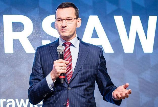 Wicepremier Morawiecki asem rządu PiS /AFP