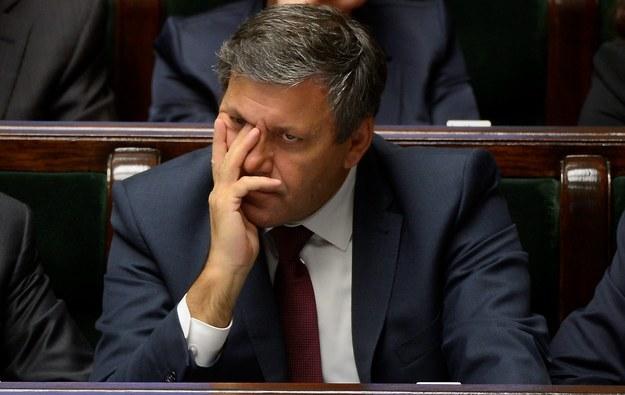 Wicepremier Piechociński wozi córkę rządową limuzyną /Bartłomiej Zborowski /PAP