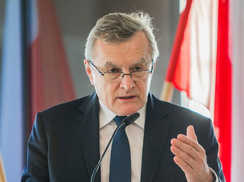 Wicepremier Piotr Gliński: Musimy w pierwszym rzędzie bronić naszych interesów /Łukasz Wieszała /Agencja FORUM