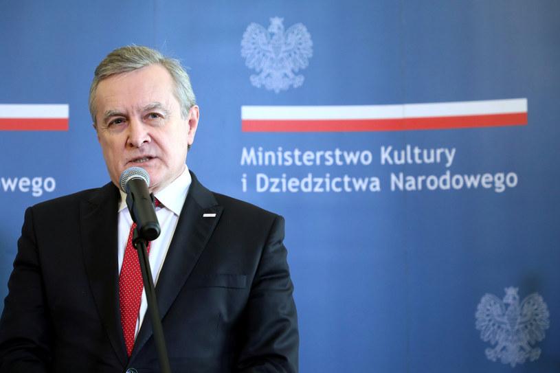 Wicepremier Piotr Gliński /Piotr Molecki /East News