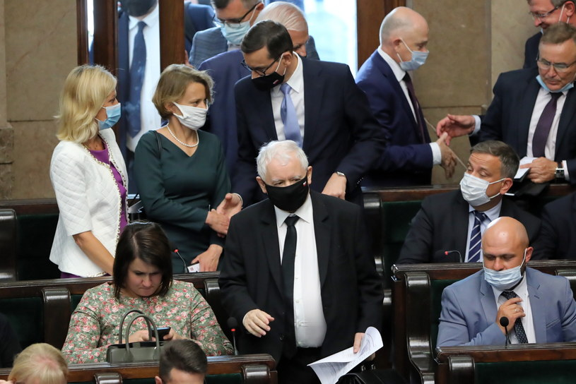 Wicepremier, prezes PiS Jarosław Kaczyński /Wojciech Olkuśnik /PAP