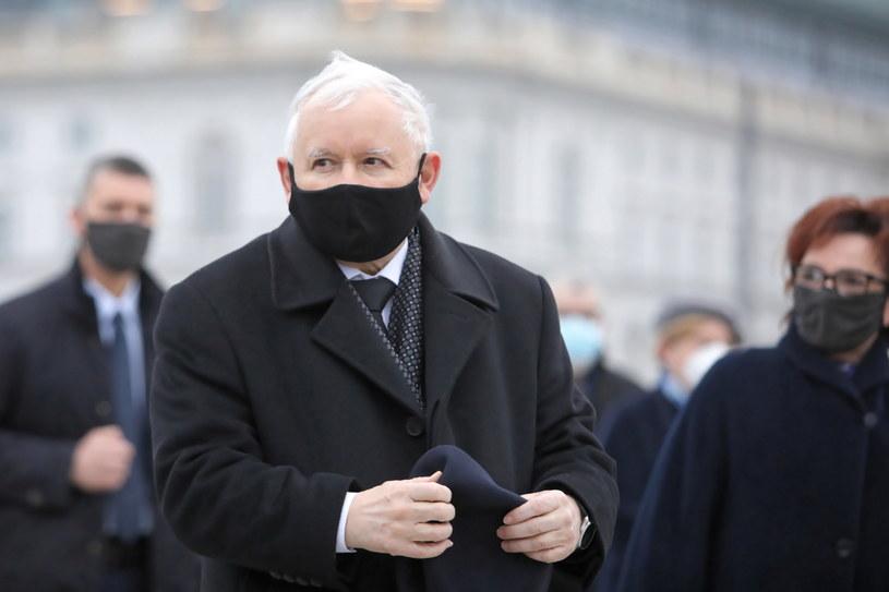 Wicepremier, prezes Prawa i Sprawiedliwości Jarosław Kaczyński / Leszek Szymański    /PAP