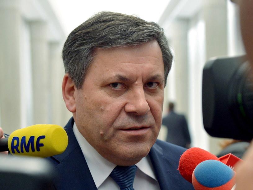 Wicepremier, przewodniczący PSL Janusz Piechociński. /Radek Pietruszka /PAP