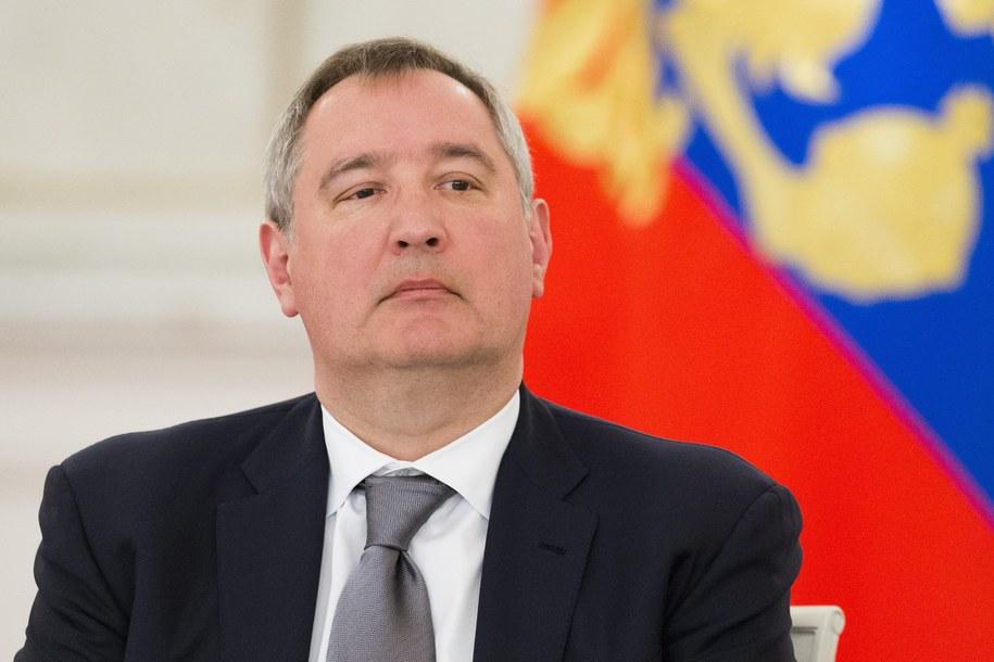 Wicepremier Rosji Dmitrij Rogozin /ALEXANDER ZEMLIANICHENKO/POOL    /PAP/EPA